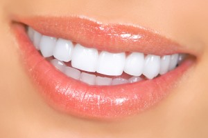 close up teeth