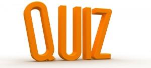quiz gold letters