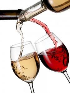 red vs white wine